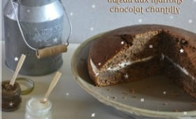 Gâteau aux Marrons Chocolat et Chantilly de Jamie Oliver