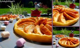 Tartelettes aux pommes, noix et confiture de lait