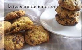 Cookies aux pépites de chocolat et aux céréales pour lait