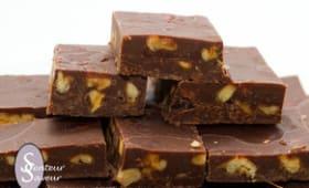 Fudges au chocolat et aux noix de pécan