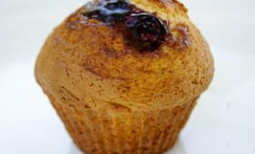 Muffins au coeur de myrtilles
