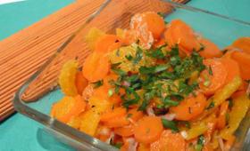 Salade de carottes à l'orange