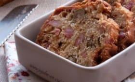 Cake salé : aux olives et jambon (ou lardons) sans gluten