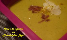 soupe de légumes au Philadelphia Light