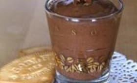 Mousse au chocolat aux oranges confites