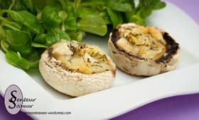 Champignons farcis au fromage de chèvre