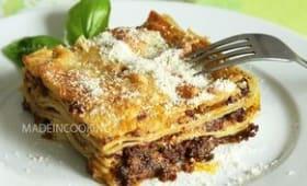 Lasagne bolognaise italienne