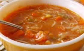 Soupe de legumes automnale facile