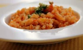 Risotto Rosso aux légumes