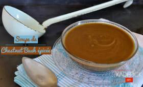 Soupe de potimarron chestnut bush bio épicée