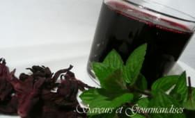 Bissap, Carcadet ou boisson de fleurs d'hibiscus