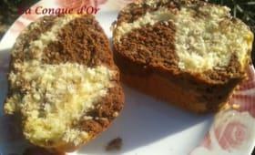 Gâteau marbré italien au Nutella