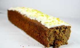 Carrot cake et son glaçage mascarpone citron vert