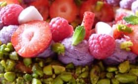 Tarte extraordinaire aux fruits rouges du chef Carl Marletti