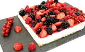 Cheesecake revisité aux fruits rouges
