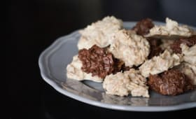 Rochers feuilletine au chocolat