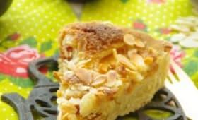 Bakewell tart aux abricots