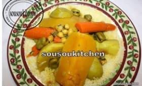 Couscous au boeuf