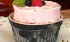 Soufflé glacé aux fruits rouges