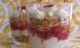 Yaourt grec et céréales