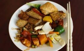 Assiette végétalienne