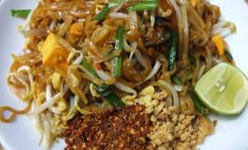 Cuisine thaï salade