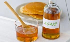 Sirop d'agave et pancakes