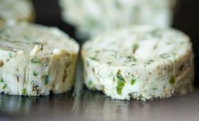Rondelles de beurre composé