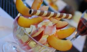 Pêche Melba