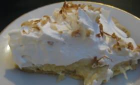 Gâteau aucrème de coco