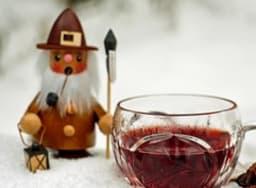 Verre de vin chaud