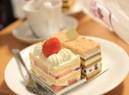 Gâteaux à la fraise et aux chocolat