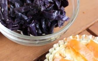 Salade de choux rouge chaud ou froid