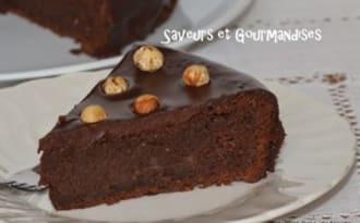 Cake au Nutella.