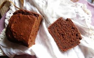 Cake vegan fondant au chocolat noir