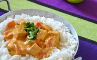 Curry rouge de Tofu