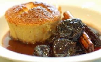 Pudding aux amandes, sans gluten