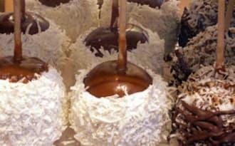 Popcakes aux noisettes ou à la noix de coco et caramel
