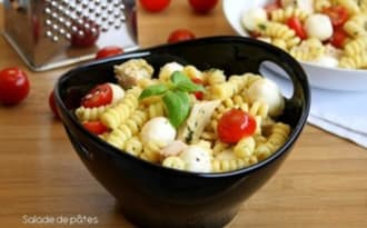 Salade de pâtes aux saveurs italiennes