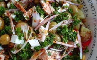 Salade estivale improvisée