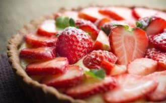 Tarte aux fraises tyrolienne