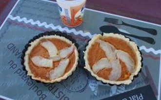 Tartelette pêche, abricot, miel au thermomix facile et rapide