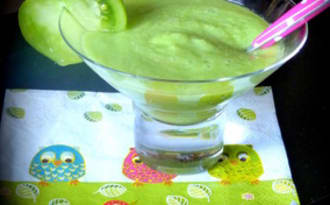 Gaspacho vert pour les enfants