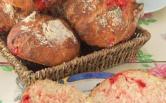 Le petit pain aux pralines roses