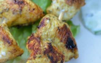 Brochette de poulet chich taouk