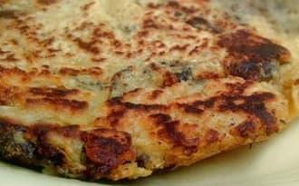 Tortilla aux aubergines - vegan, sans gluten