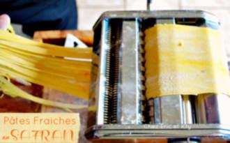 Pâtes fraiches au safran