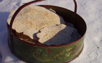 Galettes nordiques aux céréales, pain sans levain au lactosérum