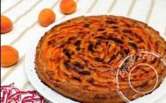 Tarte moelleuse aux abricots sans gluten