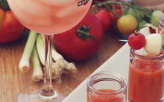 Soupe froide de tomates goût fumé